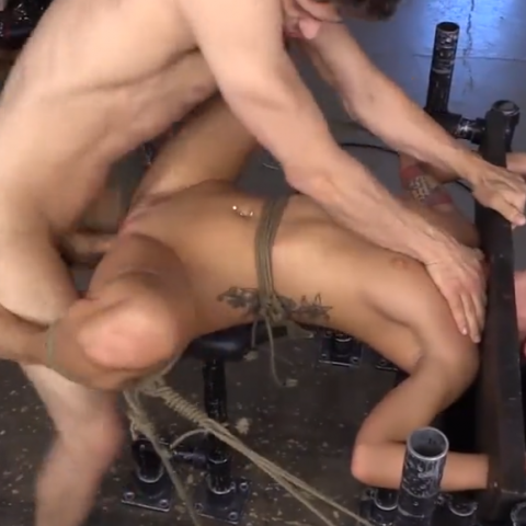 kinky bondage video